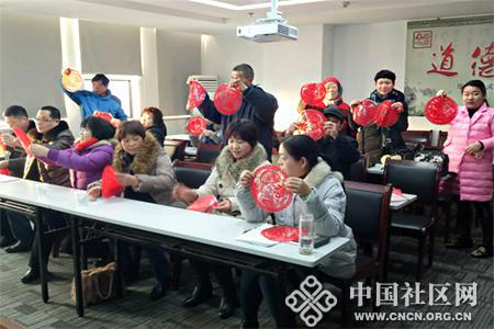 大泽社区:齐聚一堂迎新春 干群共度金鸡年