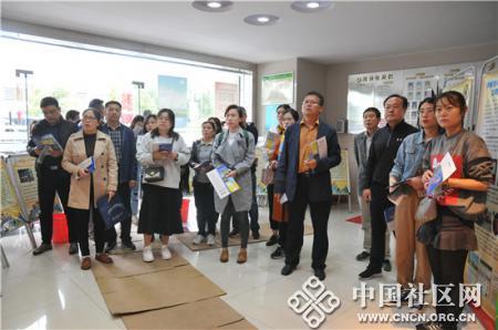 徐州市党务干部培训班参观太二社区