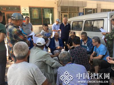 长安街道清福社区加强出租房屋安全管理 切