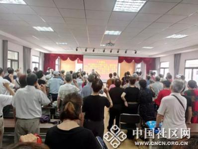 户部巷社区开展武昌周周讲主题学习活动
