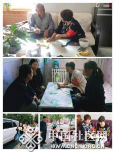 丰润路社区:走访特殊人群    平安守护助力