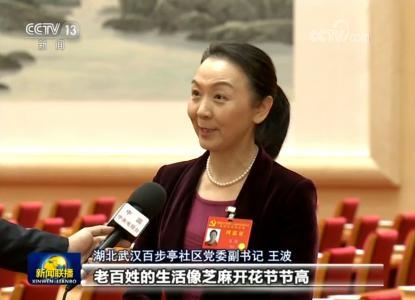 十九届四中全会闭幕 王波接受央视采访