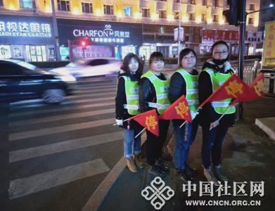 遵义街道广西社区积极组织志愿者助力 龙潭