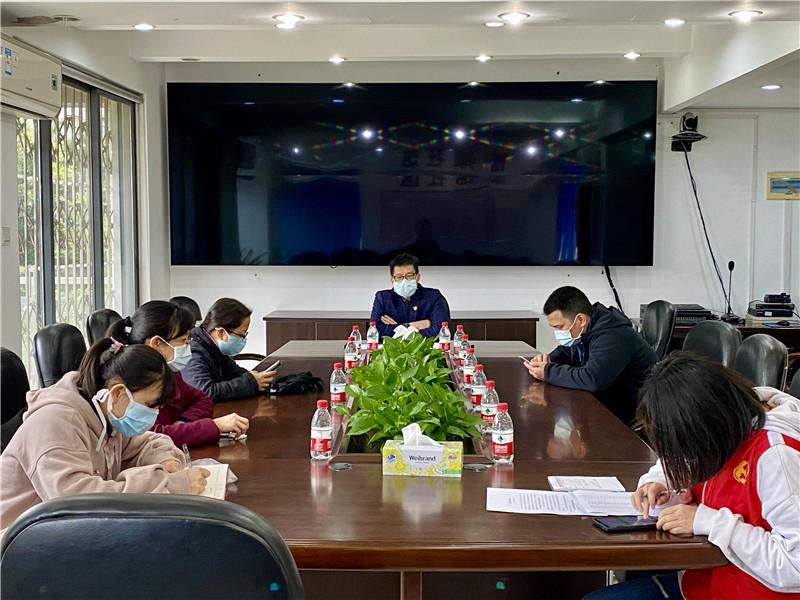 怡锦社区:以战时状态抓好疫情防控措施落实落